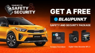 Kia Stonic with REE Blaupunkt Safety and Security Package