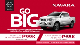 Nissan Navara promo 2019 Philippines