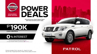 Nissan Patrol exterior front Philippines