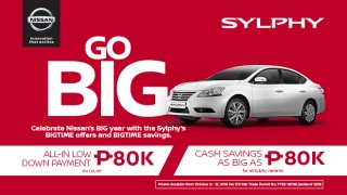 Nissan Philippines Sylphy promo 2019