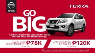 Nissan Terra Philippines promo 2019