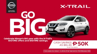 Nissan X-trail promo Philippines 2019