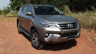 Toyota Fortuner exterior front Philippines