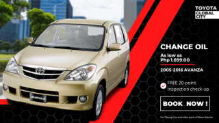 Toyota Global City Change Oil for Toyota Avanza