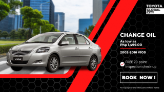 Toyota Global City Change Oil for Toyota Vios