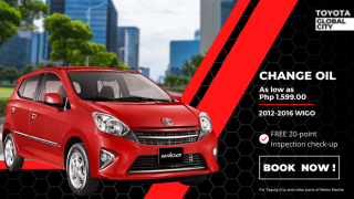 Toyota Global City Change Oil for Toyota Wigo