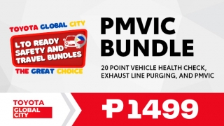 Toyota Global City PMVIC Bundle