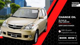 Toyota Pasong Tamo Change Oil for Toyota Avanza