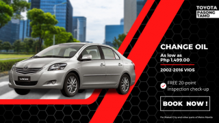 Toyota Pasong Tamo Change Oil for Toyota Vios