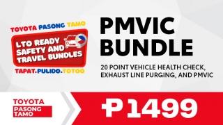 Toyota Pasong Tamo PMVIC Bundle
