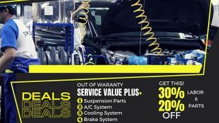Toyota Service Value Plus