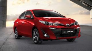 Toyota Vios exterior red Philippines