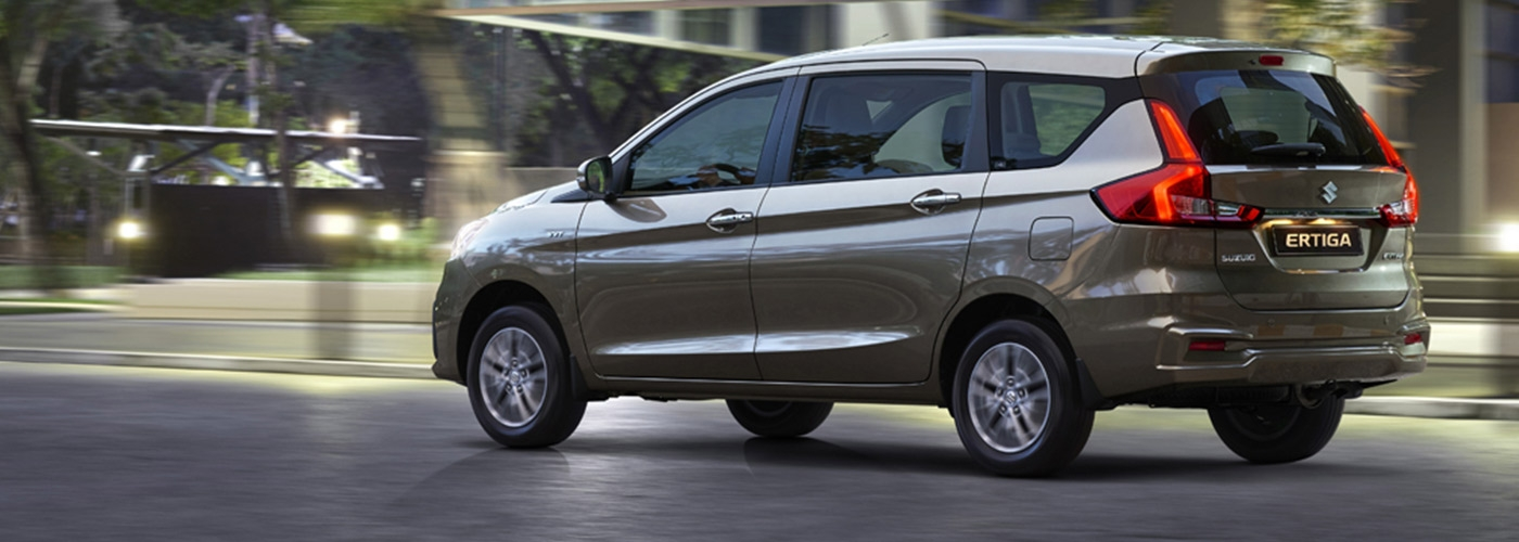Suzuki Ertiga GL AT with P88,000 All-in Downpayment