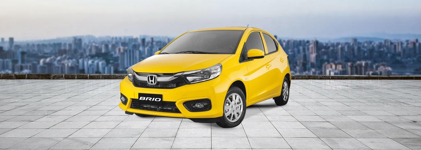 Honda Brio exterior yellow Philippines