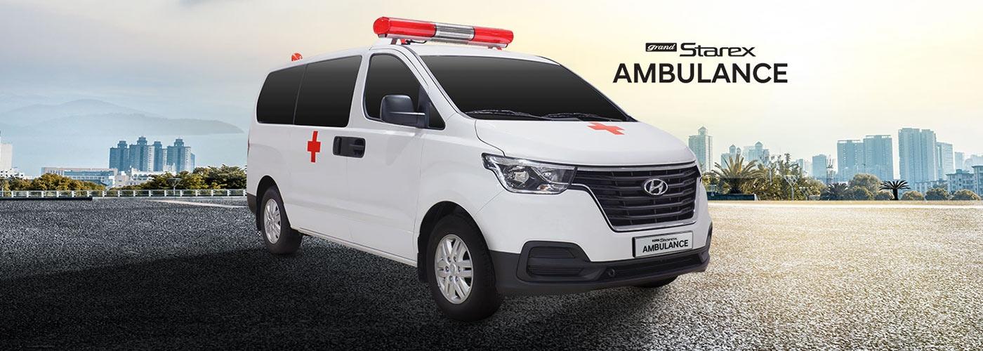 2019 Hyundai Grand Starex Ambulance Exterior Fixed Type