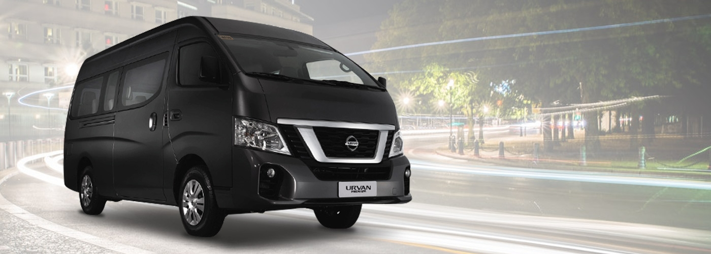 2020 Nissan Urvan Premium exterior front