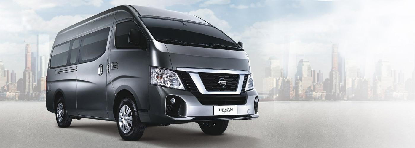 Nissan Urvan Premium exterior front Philippines