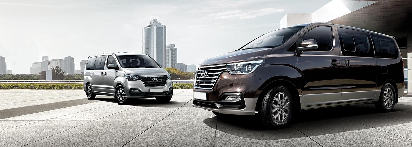 2018 Hyundai Grand Starex front