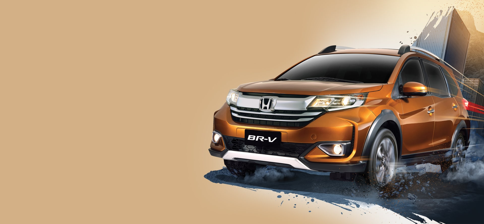 honda br-v road test review front quarter exterior philippines