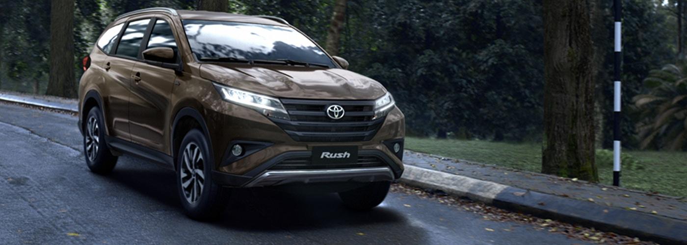 2019 Toyota Rush 1.5L G AT - Bordeaux Mica