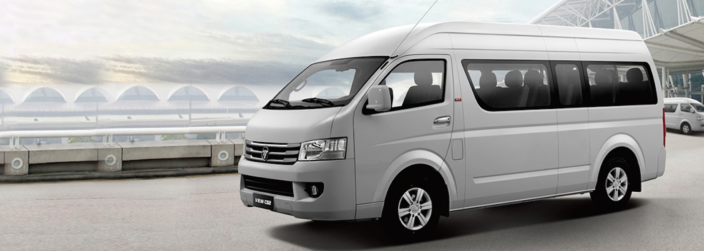2018 FOTON View Traveller front