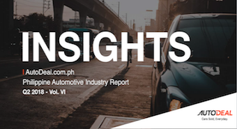 AutoDeal Insights (Vol. VI) | Q2 2018