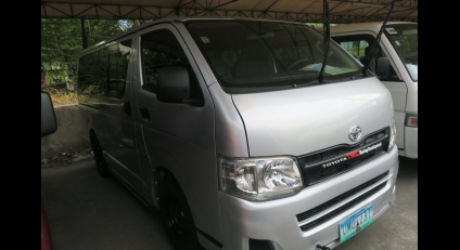 2013 Toyota Hiace Commuter MT Used Car For Sale in Imus City