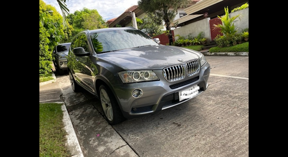 2013 BMW X3 xDrive20d Executive Package