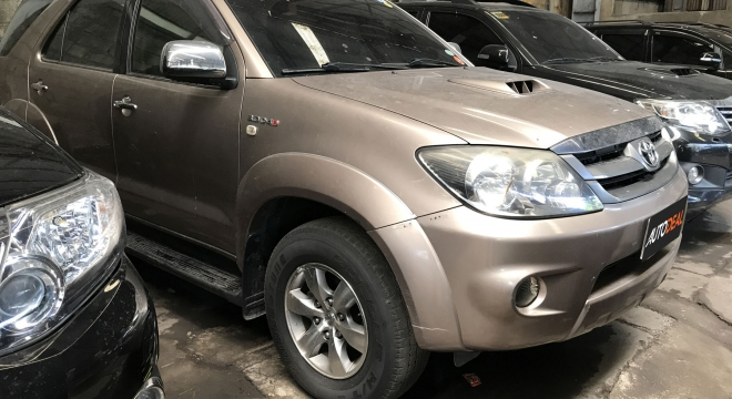 2007 Toyota Fortuner V AT