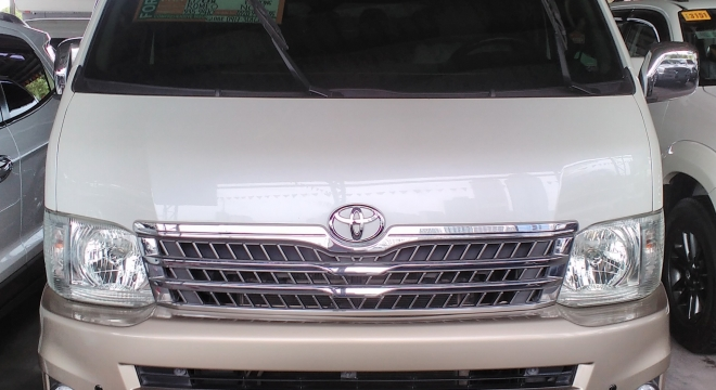 2010 toyota hiace super grandia at used car for sale in pasig city, metro manila, ncr autodeal