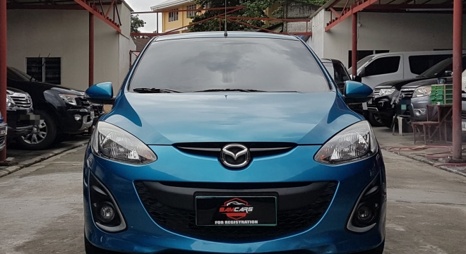 2014 mazda 2 hatchback 1.5l at gasoline used car for sale in quezon city, metro manila, ncr autodeal