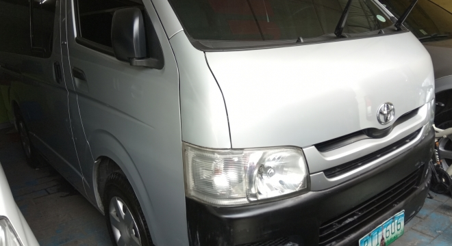 2010 toyota hiace commuter mt used car for sale in quezon city, metro manila, ncr autodeal