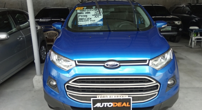 2016 ford ecosport 1.5l at gasoline used car for sale in las pinas city, metro manila, ncr autodeal