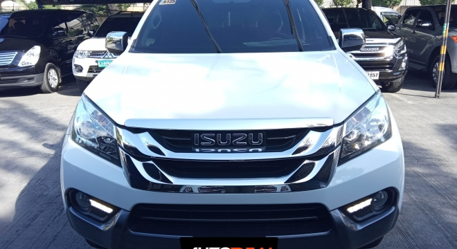 2016 isuzu mu-x 3.0 at diesel used car for sale in cainta, rizal, calabarzon autodeal