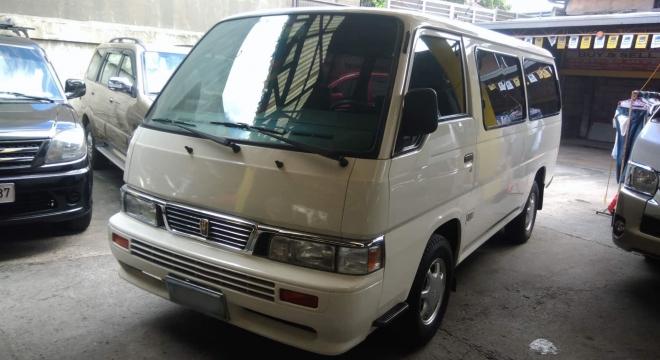 2013 Nissan Urvan Shuttle