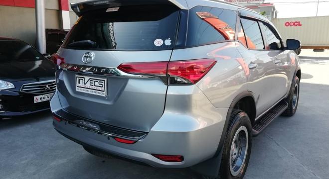 2016 Toyota Fortuner 2.4 G Diesel 4x2 MT
