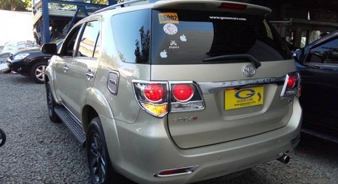 2015 Toyota Fortuner V AT Diesel (4x4)