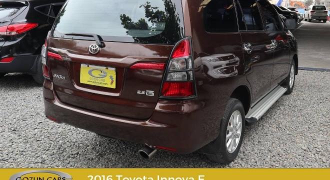 2016 Toyota Innova 2.5 E MT Diesel