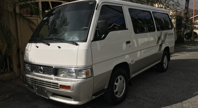 7ad836f54b 2014 nissan urvan escapade 2.7l mt diesel used car for sale in makati city
