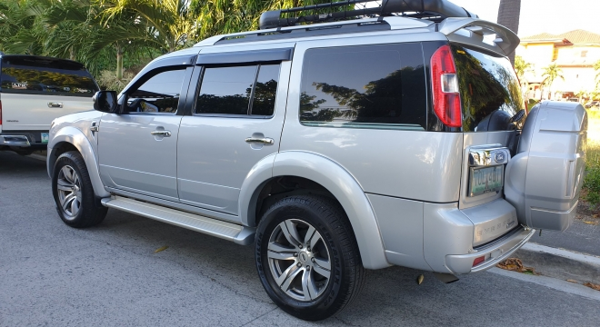 2012 Ford Everest Limited (4X2) AT