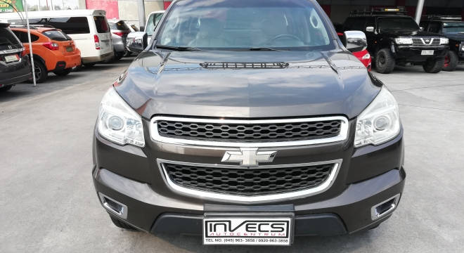 2013 Chevrolet Colorado 2.8L 4x4 AT LTZ