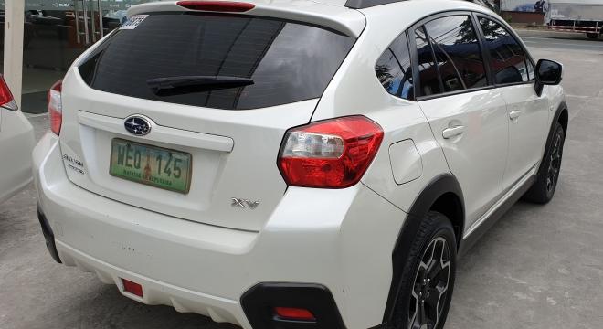 2013 Subaru XV 2.0L CVT Gasoline