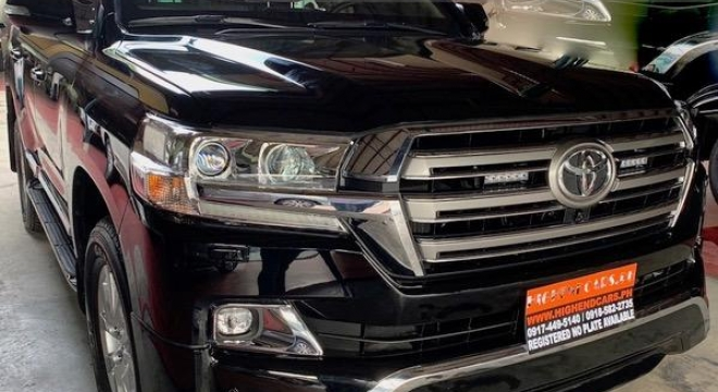 2019 Toyota Land Cruiser V8 Used Car For Sale in Pasay City