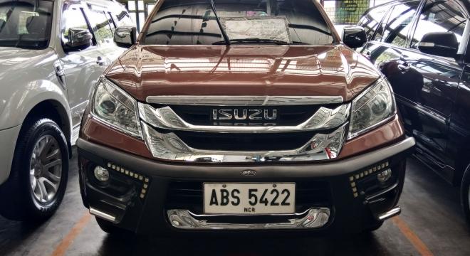 2015 isuzu mu-x 2.5 ls-a 4x2 at used car for sale in marikina city, metro manila, ncr autodeal