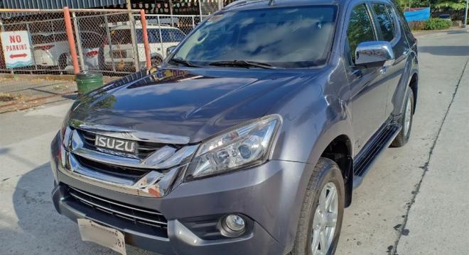 2017 isuzu mu-x ls-a crdi used car for sale in marikina city, metro manila, ncr autodeal