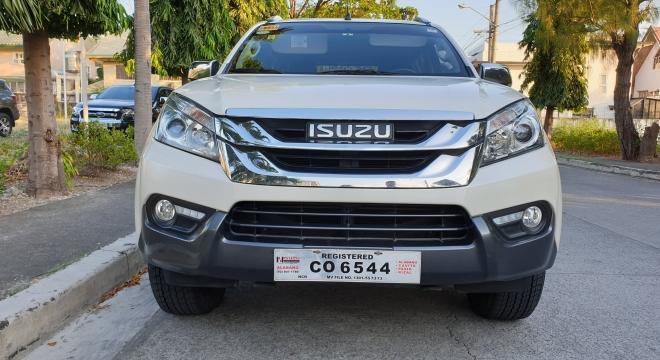 2016 isuzu mu-x 3.0 at diesel used car for sale in las pinas city, metro manila, ncr autodeal