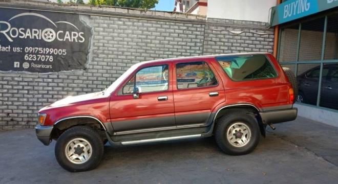 1990 Toyota 4Runner 3.0 V6 MT