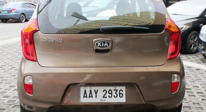 2014 Kia Picanto EX MT