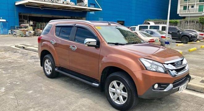 2015 isuzu mu-x ls 2.5l at diesel used car for sale in marikina city, metro manila, ncr autodeal
