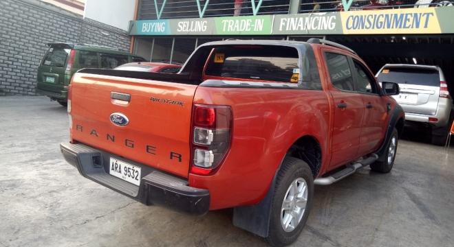 2015 Ford Ranger 2.2 Wildtrak 4X4 AT